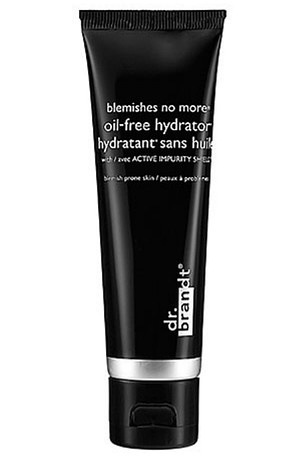 This light weight moisturizer is perfect for every day use, Dr. Brandt Blemishes No More Oil-Free Hydrator, $35, sephora.com