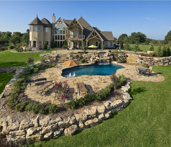 Dream house and pool