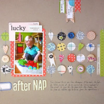 Great scrapbook page!