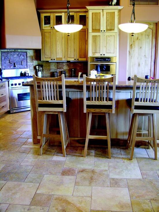 kitchen stone floors