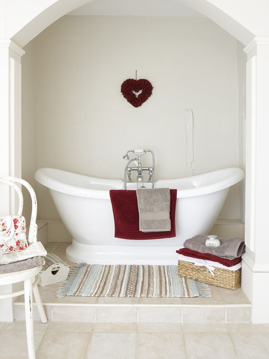 I want to have a bath there!