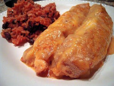 Chicken & Cheese Enchiladas