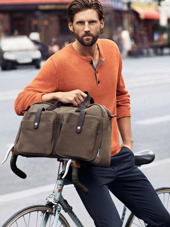 Beard in fashion: Marc O'Polo SS 2013