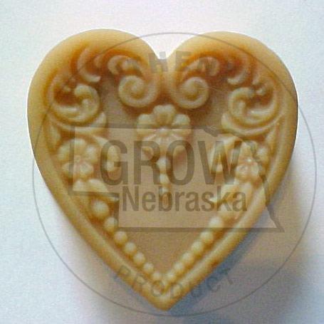 Sandhills Goat Products Victorian Heart Soap