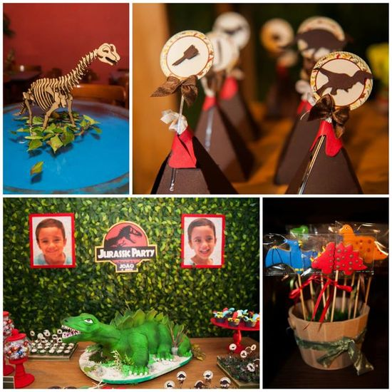 Jurassic Park Party with Such Awesome Ideas via Kara's Party Ideas