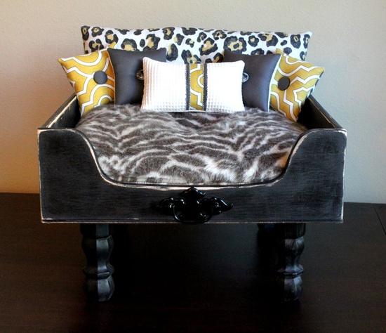 Modern Dog Bed, Zoe Pet Lounger. $900.00, via Etsy.