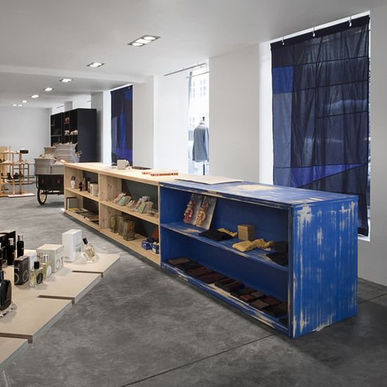 Wood Wood Copenhagen store interior