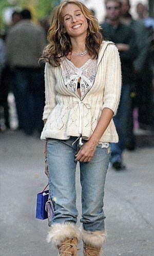 casual - jeans --- Sarah Jessica Parker - SATC - Carrie Bradshaw - set - sex and the city