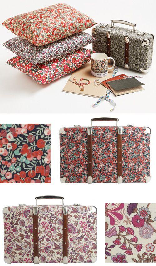 beautiful print suitcases