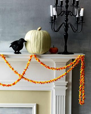 candy corn garland...clever