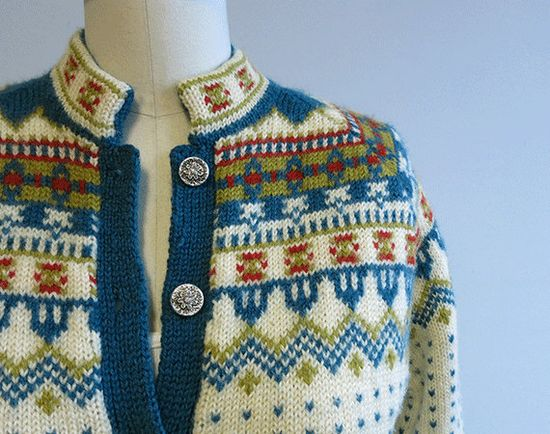 Label: Viking Knit Hand Made in Norway