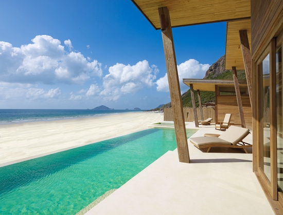 Six Senses is in southern Vietnam's awe-inspiring, pristine archipelago of Con Dao #JetsetterCurator    this is not what I picture when I think of Vietnam. total paradise.