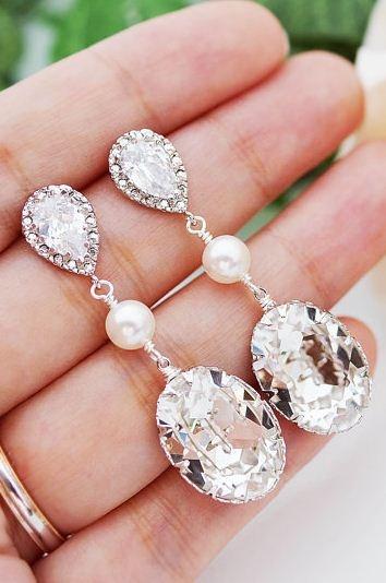 sparkly bridal jewelry!