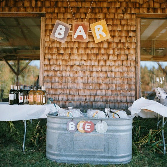 Rustic Wedding Bar rustic-wedding-dreams