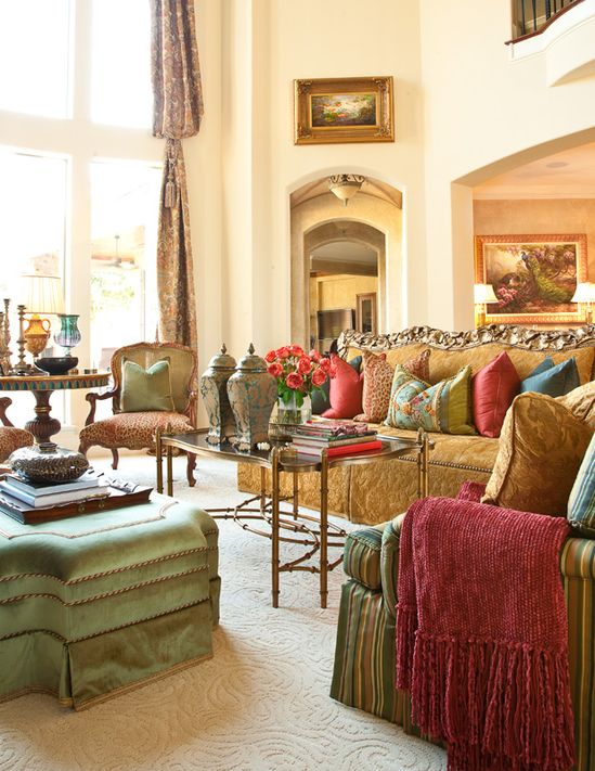 Gorgeous living room ~ Interiors by Gary Riggs Home
