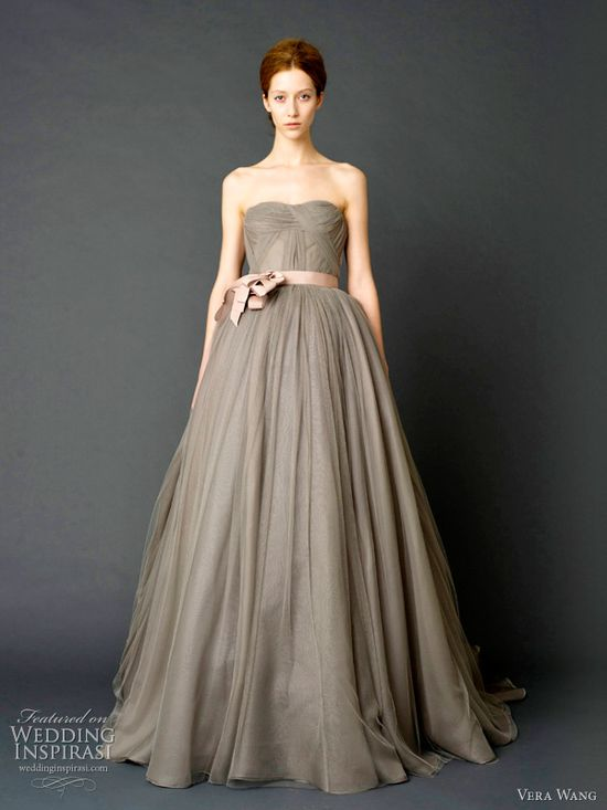 Vera Wang Wedding Dress: Spring 2012