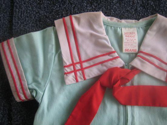vintage sailor outfit