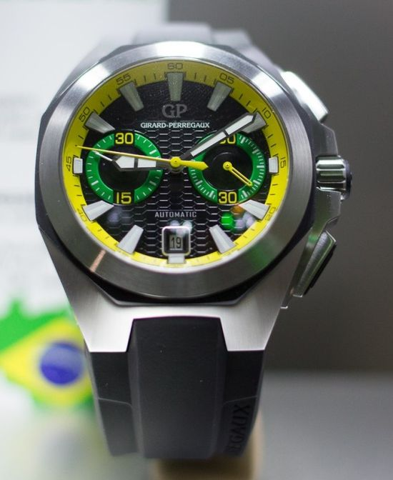Girard Perregaux Chrono Hawk Brazil (Photo credit:  Shaun Vakil)