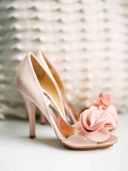 blush shoes ?