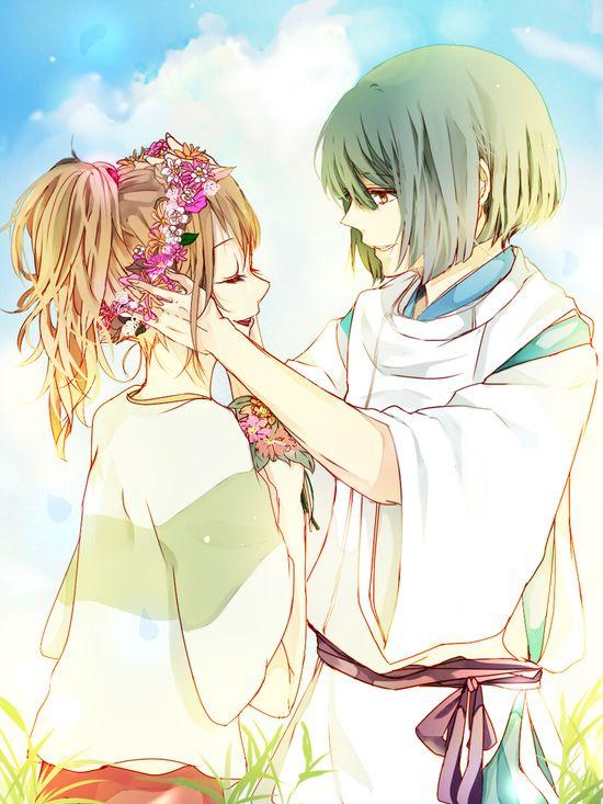 Haku & Chihiro - Spirited Away ?