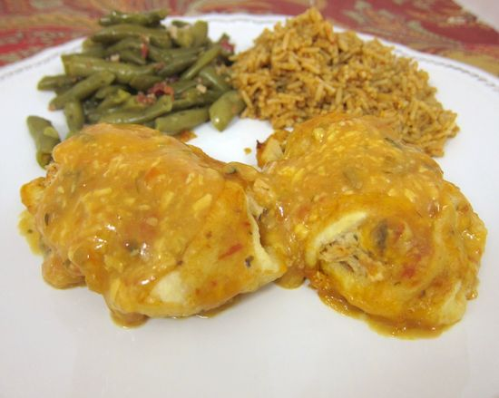Southwestern Chicken Roll Ups