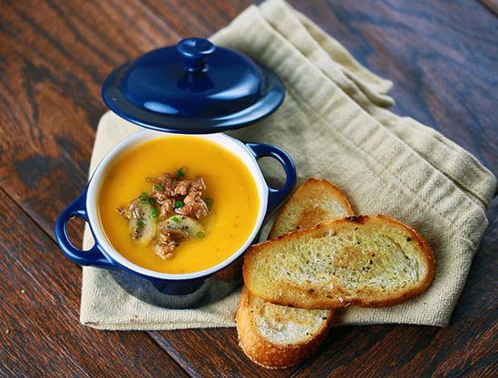 Butternut Squash Soup #Soup #recipes #cooking #healthy
