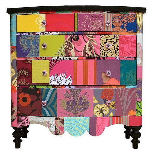 Patchwork Dresser!