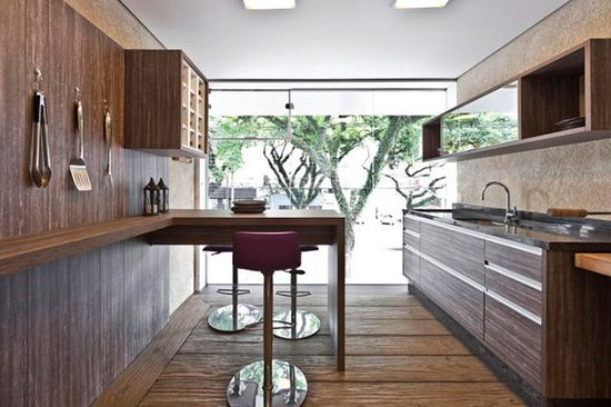 Wooden kitchen. #decor #wood #interior #design #casadevalentina