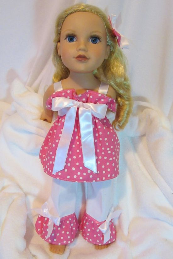 American Girl Doll Clothes 18 inch Dolls by HauteDesignsByNorine, $18.50