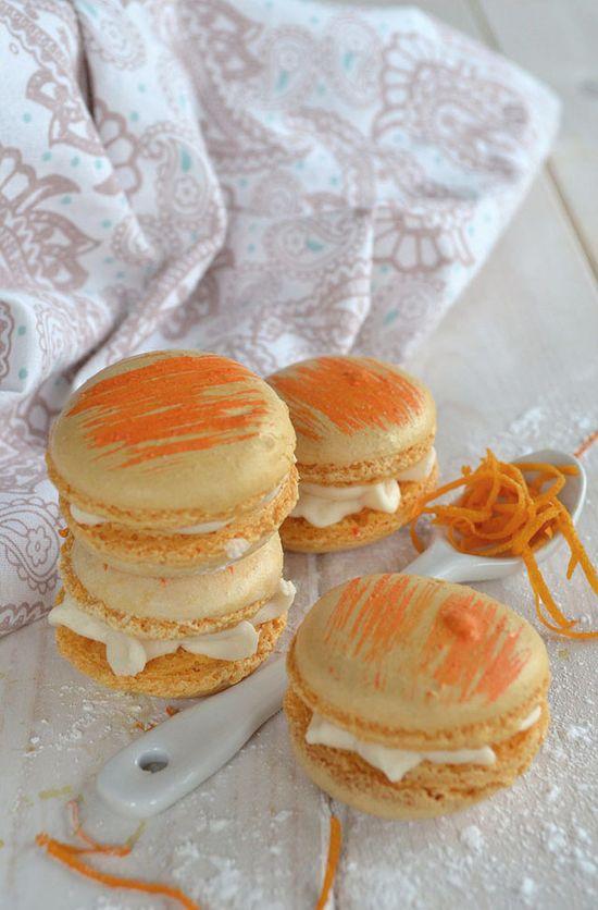 Orange Vanilla Macaroons Recipe   Appliances Online @ Home