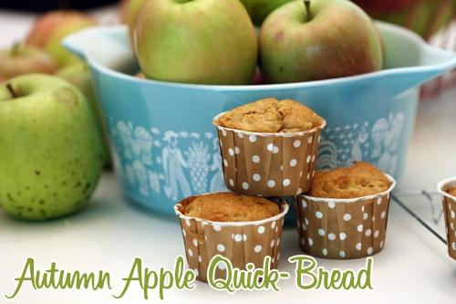 Autumn Apple Quick Bread