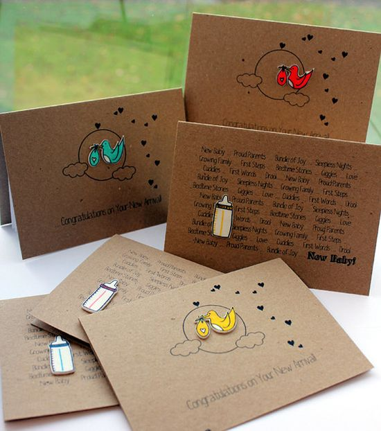 Pack of 6 Handmade Cards // Any Occasion by LittleSilverleaf