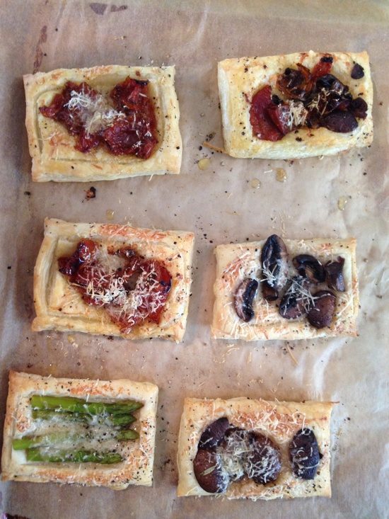 QUICK AND EASY SAVORY TARTS