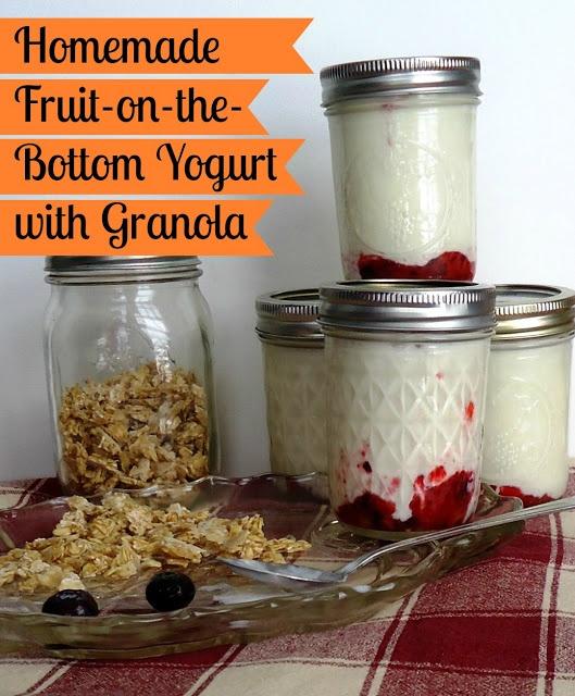 We Like Making Our Own Stuff: Homemade Fruit on the Bottom Yogurt