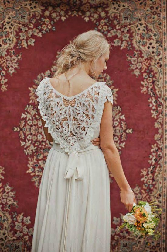 Gorgeous back detail dress
