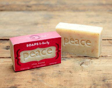 PEACE - Shea Honey Handmade Soaps
