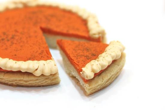 Pumpkin Pie COOKIES @createdbydiane