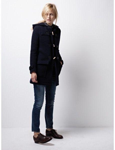 brogues and black coats.