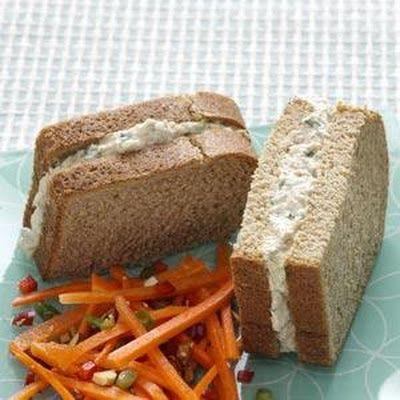 Zesty Dill Tuna Sandwiches
