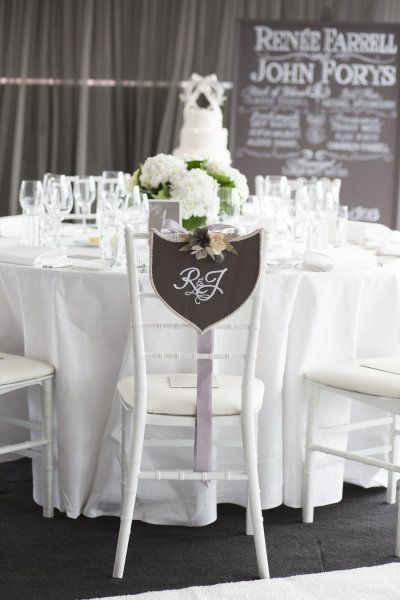 Sweet signage. Photography by inlighten.com.au Floral Design by summersfloral.com.au  Read more - www.stylemepretty...