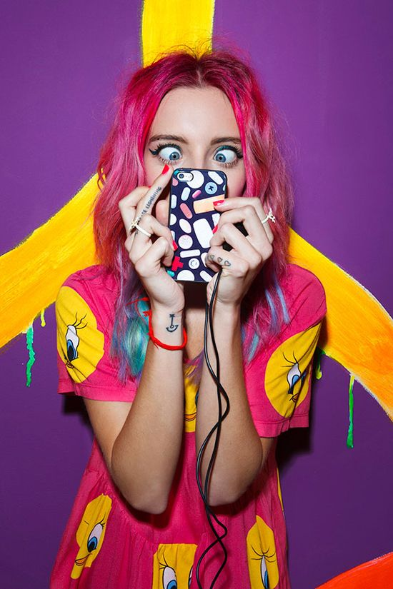 #ChloeNorgaard with the Chill Pill iPhone 5 Case
