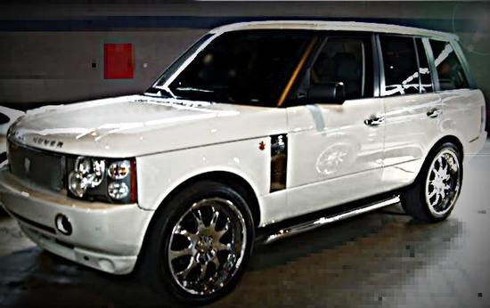 Range Rover nice car!