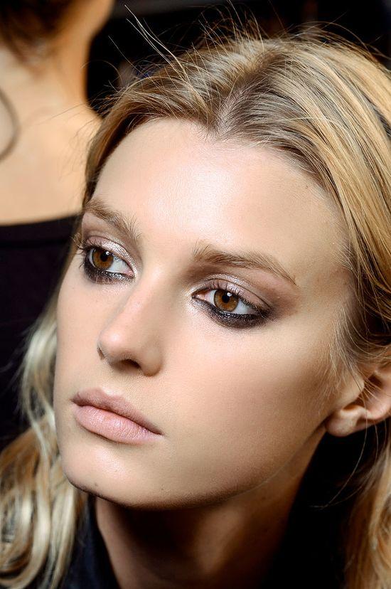 Lanvin, makeup, nude lip, 2013.