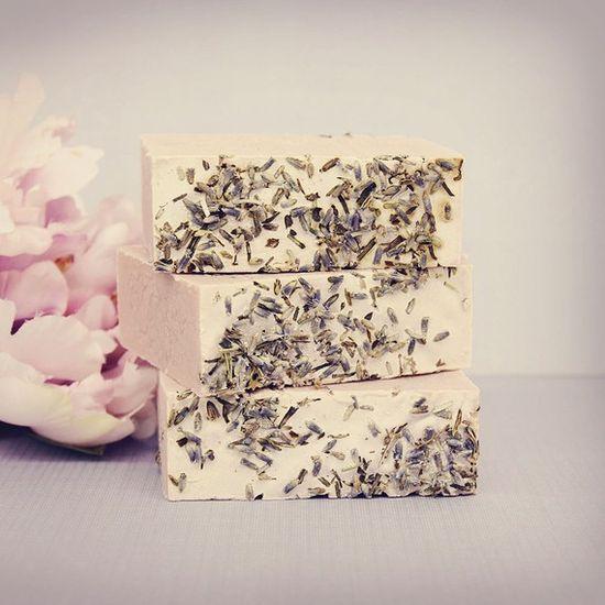 Handmade Cold Process Soap in Lavender Tea by Mojo Spa