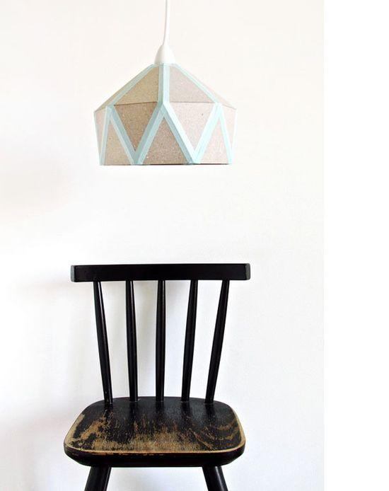 DIY Quilt Light by Tamara Maynes