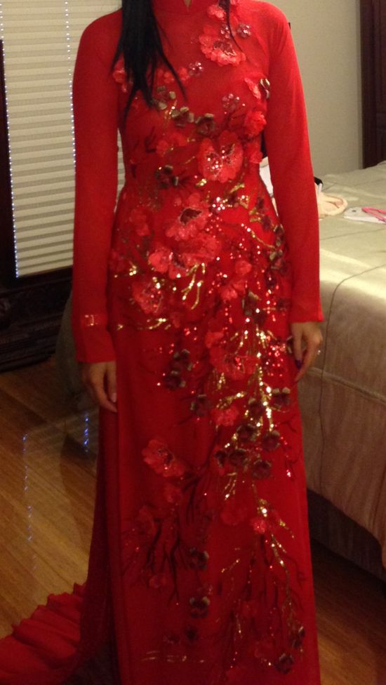 Completed front ao Dai