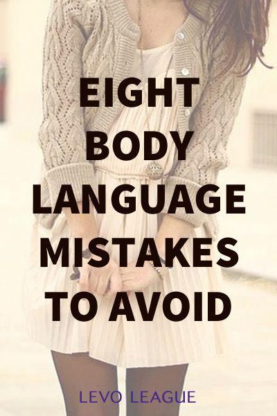 Eight body language mistakes to #soft skills #self personality #self personality #soft skills