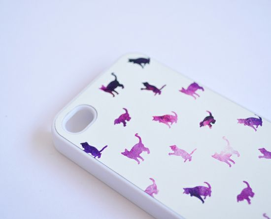 Galaxy Cat iPhone Case