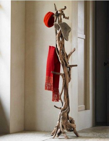Reclaimed Root Coat Stand