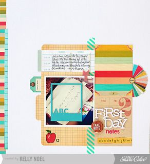 first day notes by Kelly Noel at Studio Calico
